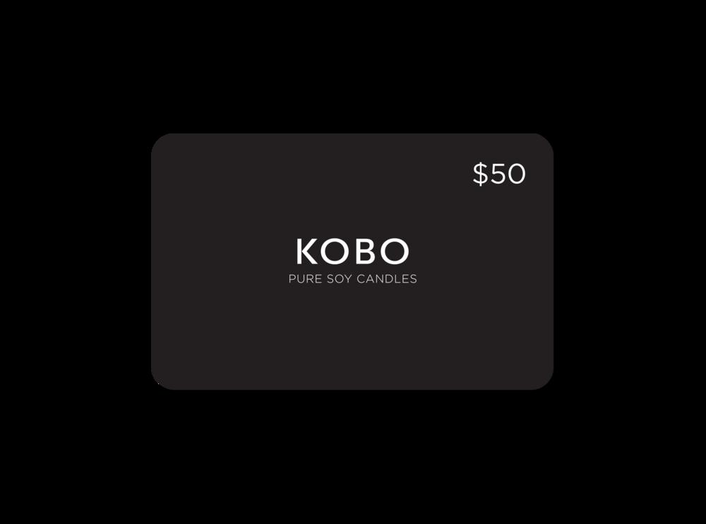 Kobo Digital Gift Card 50