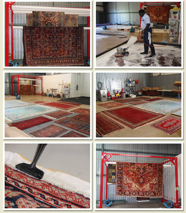 FINE RUG CLEANING - WOOL/ ORIENTALSOTHER NATURAL FIBERSSYNTHETIC FIBER