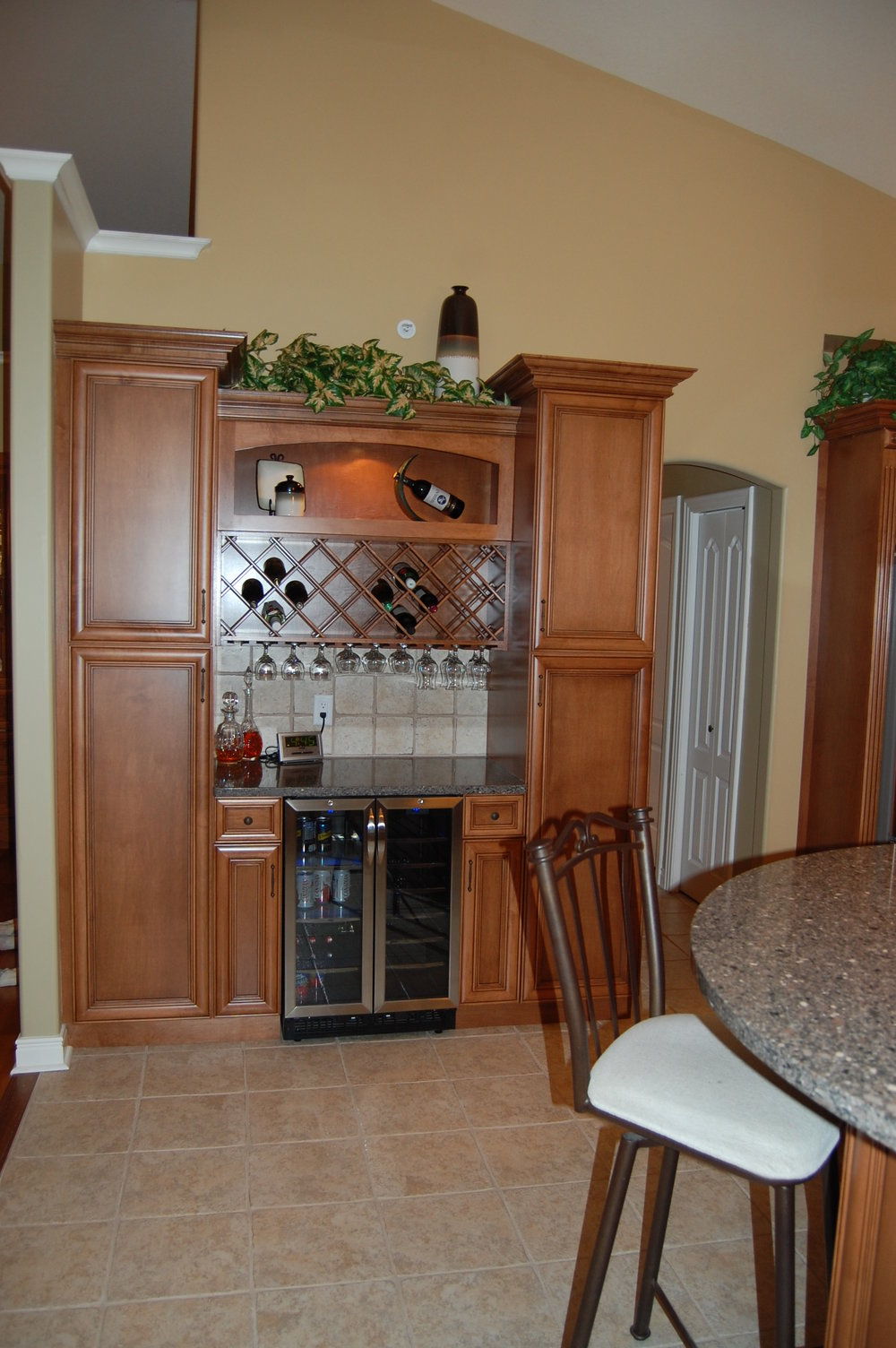 Wine Cooler & Rack.JPG