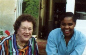 Tanya with Julia Child