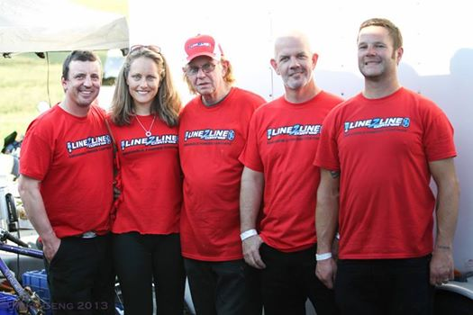 The team, proudly sponsored by Line 2 Line coatings!
