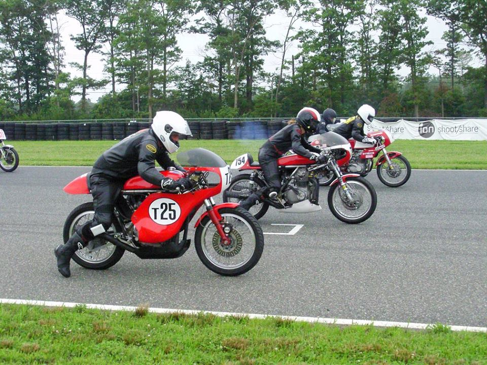 Off the start and on the gas, NJMP