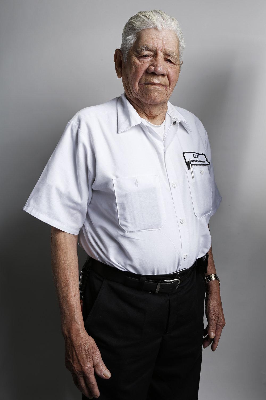 —Encarnacion Garcia Nieto, 78, Housekeeper.