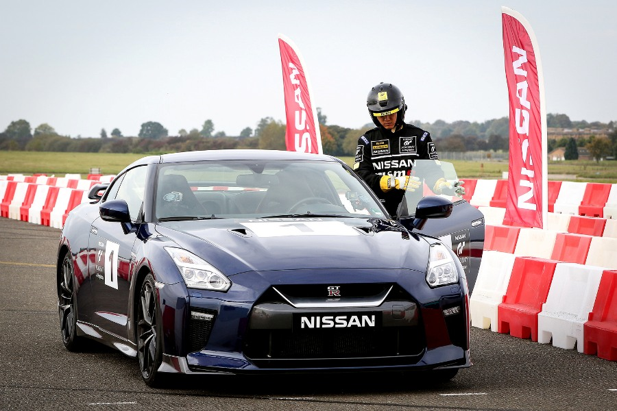 Just before my Nissan GT Academy dream ended... what a car though!