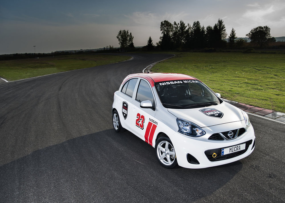 Nissan Micra Cup Car. Safe, reliable, affordable and produces excellent racing by putting the emphasis back of driver skill and race craft. Also watch out for that 109HP of pure POWER