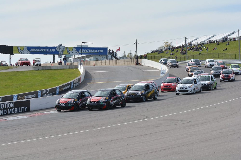 2017 Nissan Micra Cup Race 1 Start (Photo: Nissan Micra Cup Facebook)