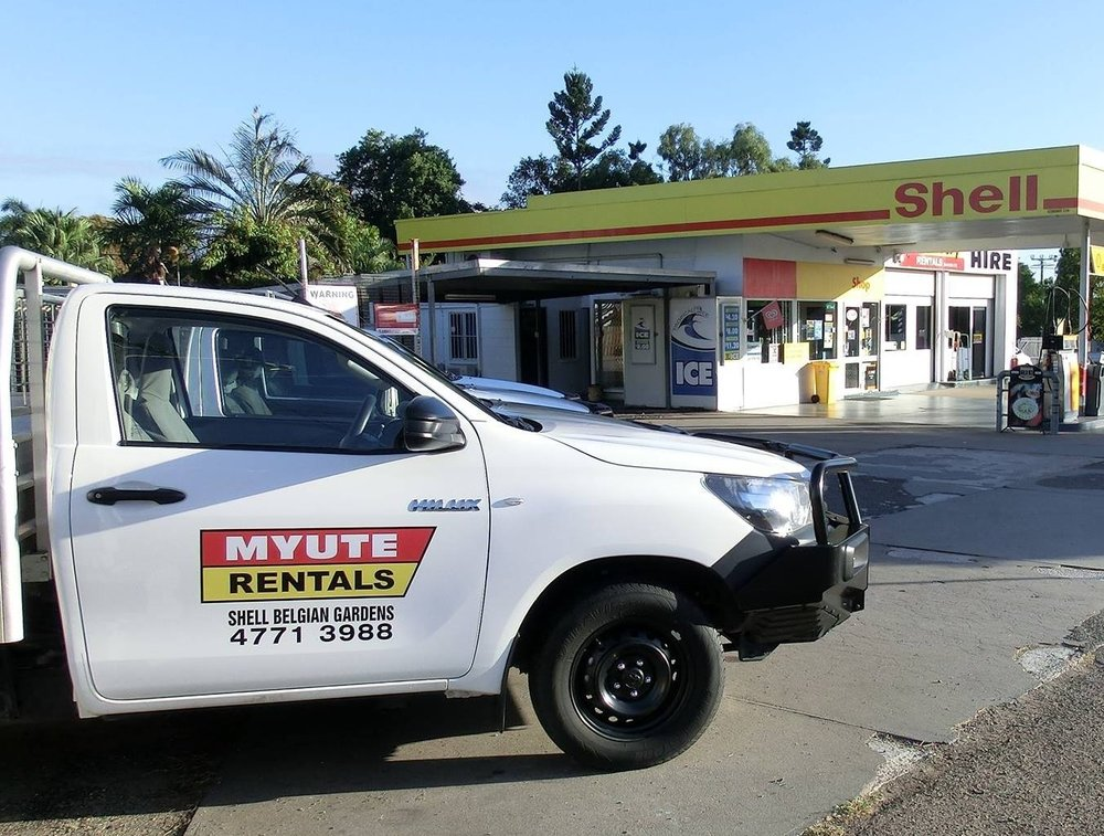 Proud to represent this iconic Townsville business (Photo:  MyUte Rentals Facebook )