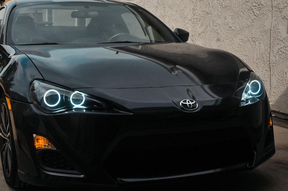 Scion Frs 6 06 Evil Headlights Custom Retrofitting Service In