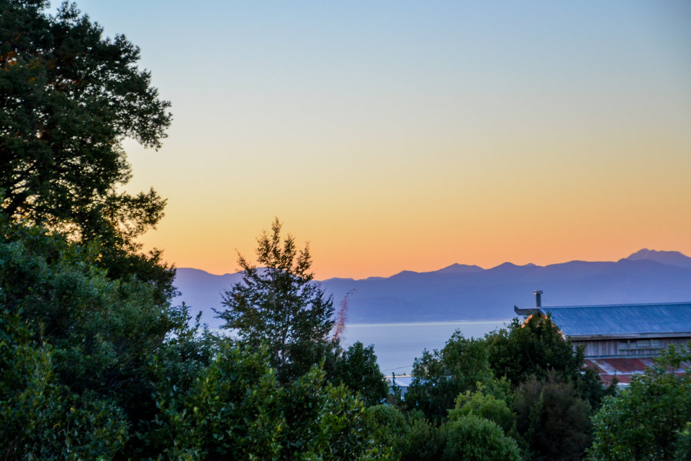 Sunrise in Abel Tasman National Park
