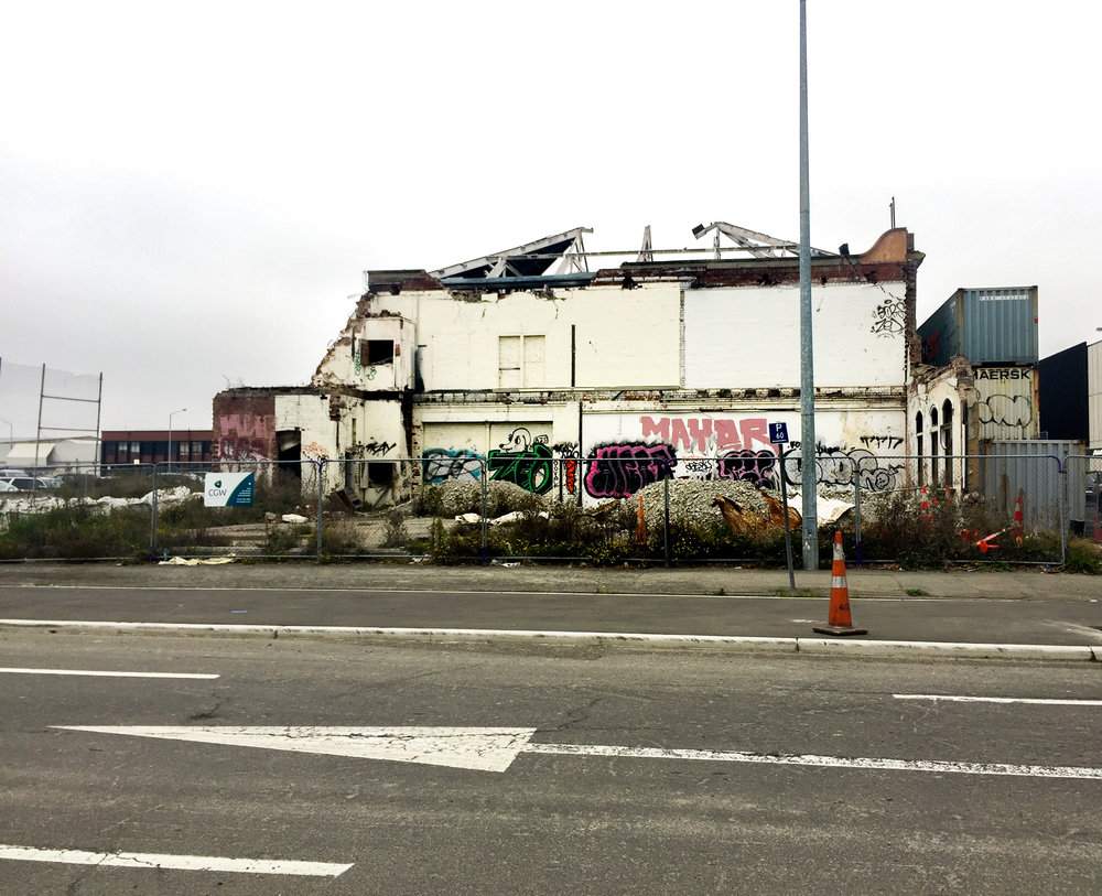 Christchurch destroyed by earthquake in 2011