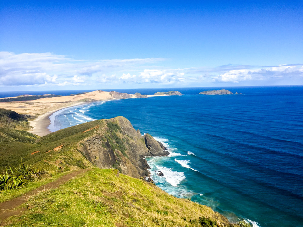 Cape Reinga Lighthouse, the most northern point of New Zealand