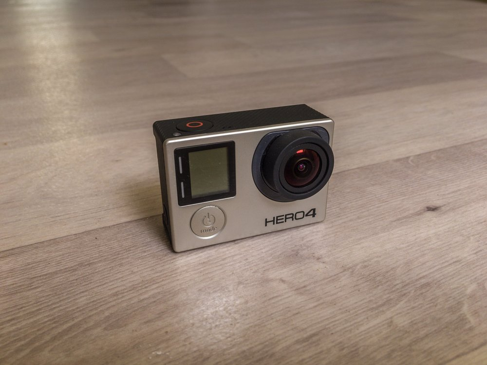 GoPro Hero 4 Black Edition Les Droners
