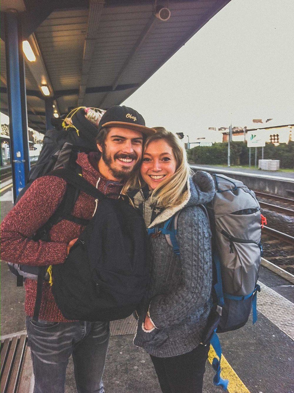 Departure for Australia with our Forclaz Quechua backpack