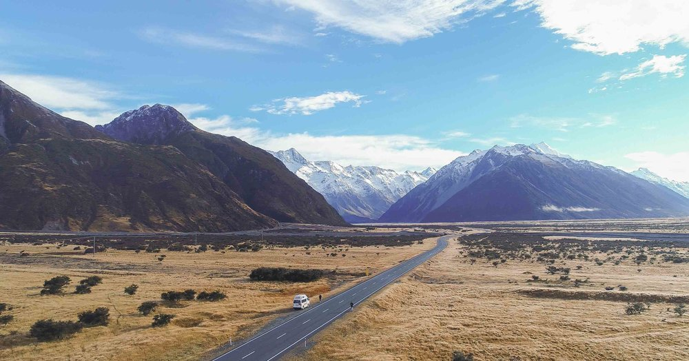 Video New Zealand by drone - the south island