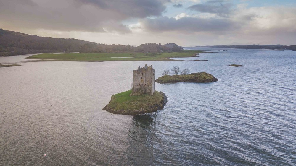 Video Scotland by drone