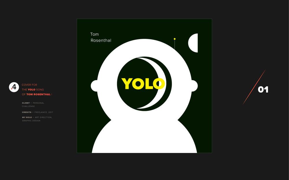 Yolo. Tom Rosenthal