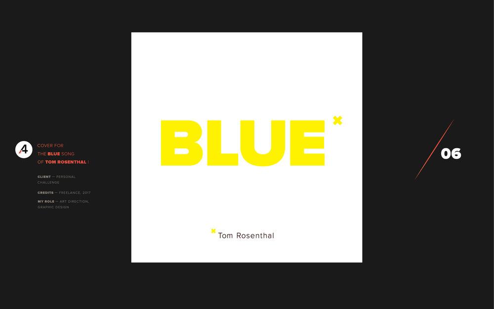 Blue. TomRosenthal
