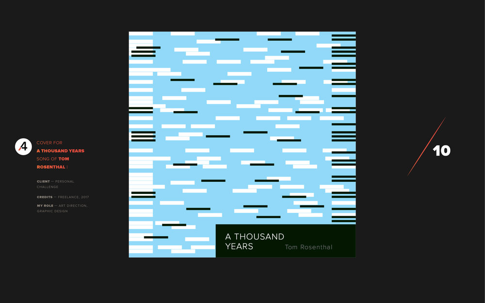 A thousand years. Tom Rosenthal