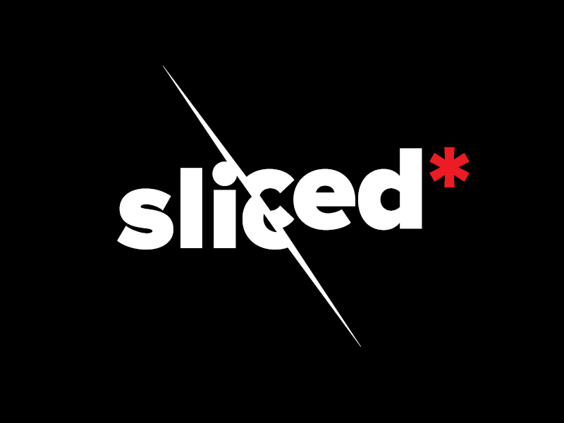 Sliced logotype