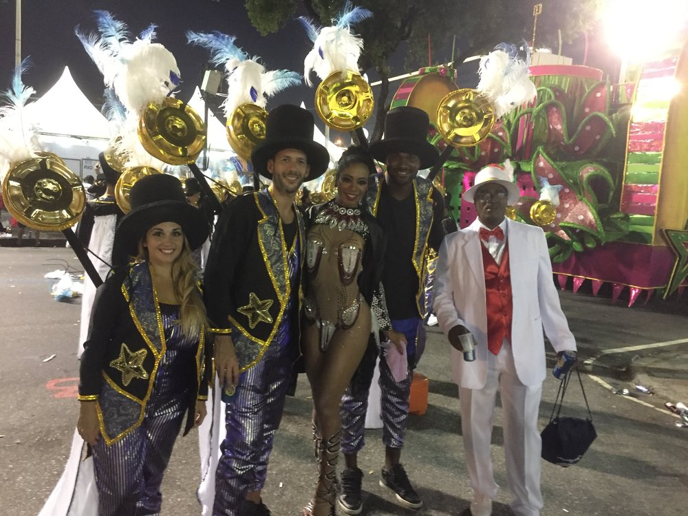 "Carolina - Argentina ""Thank you ILSVIP for arranging my carnival experience, it was amazing!"""