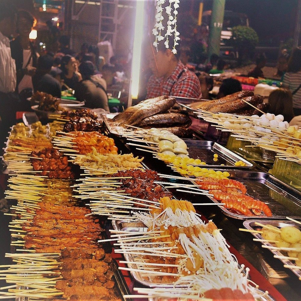Yangon evening street food tour: Barbecue at 19th Street