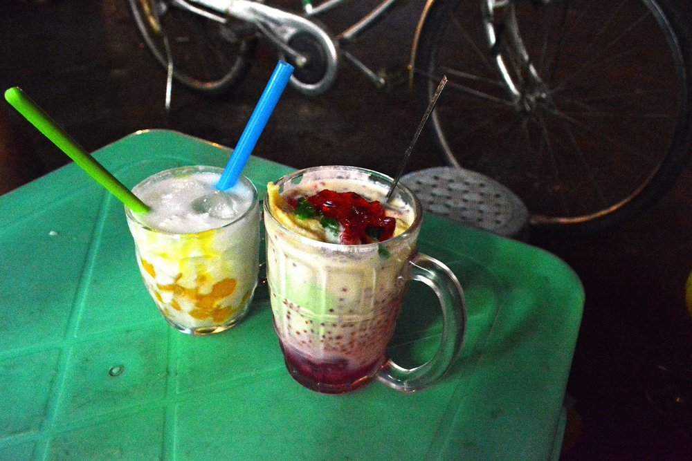 Yangon evening street food tour: Falooda