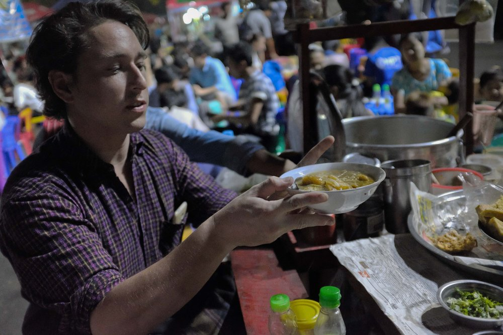 We love Yangon street food - We only work with trusted vendors who love seeing new visitors come appreciate their home-style food. These stops are our favourite places to eat – the same places we take our family and friends, serving delicious and authentic eats.