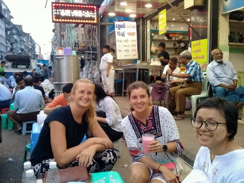 Where to get great faloodah and lassi -Yangon Street Food Walking Tour