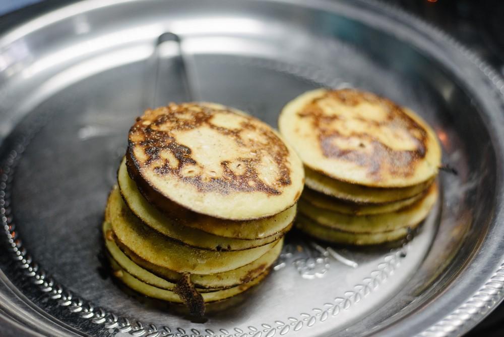 Yangon Myanmar/Rangoon Burma Private events catering: Bain Mot pancakes