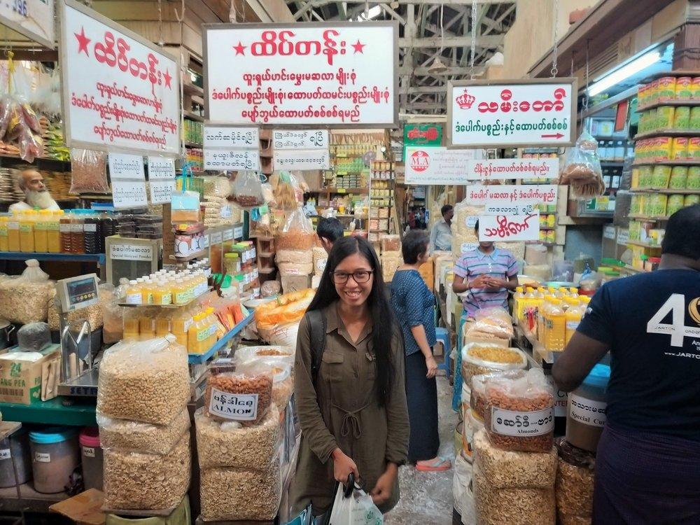 Top Yangon Market Tour