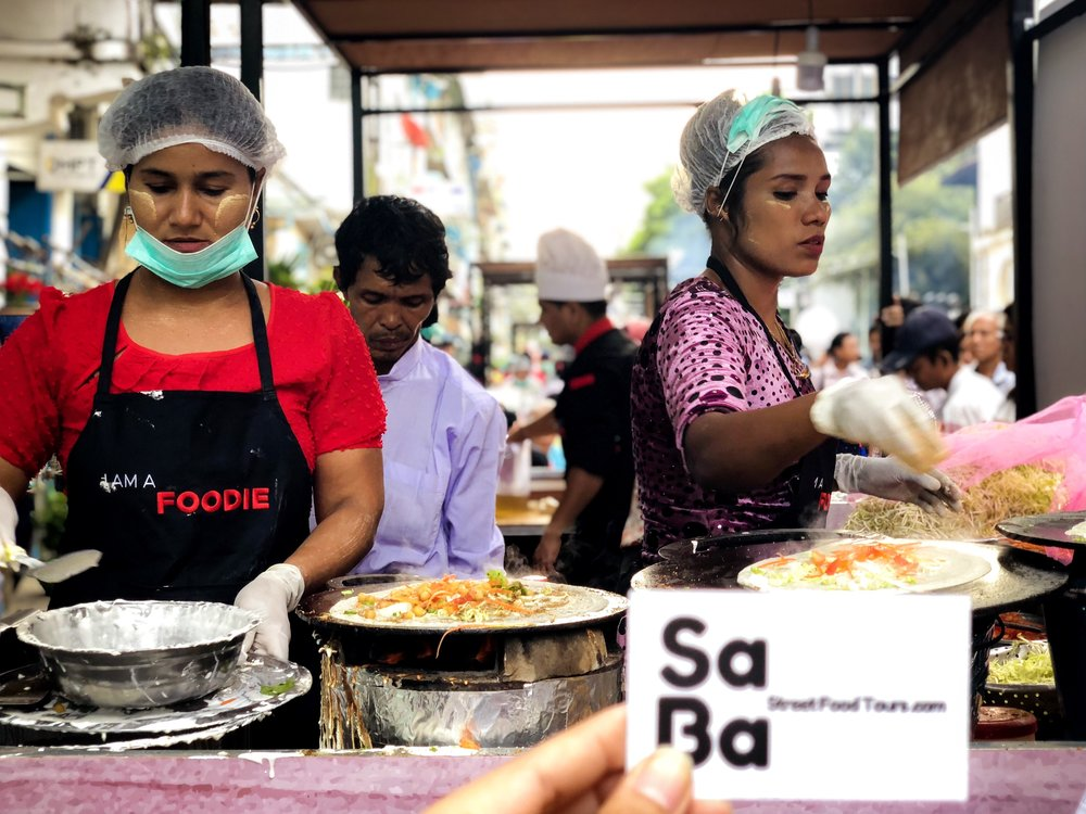 Yangon Street Food Catering