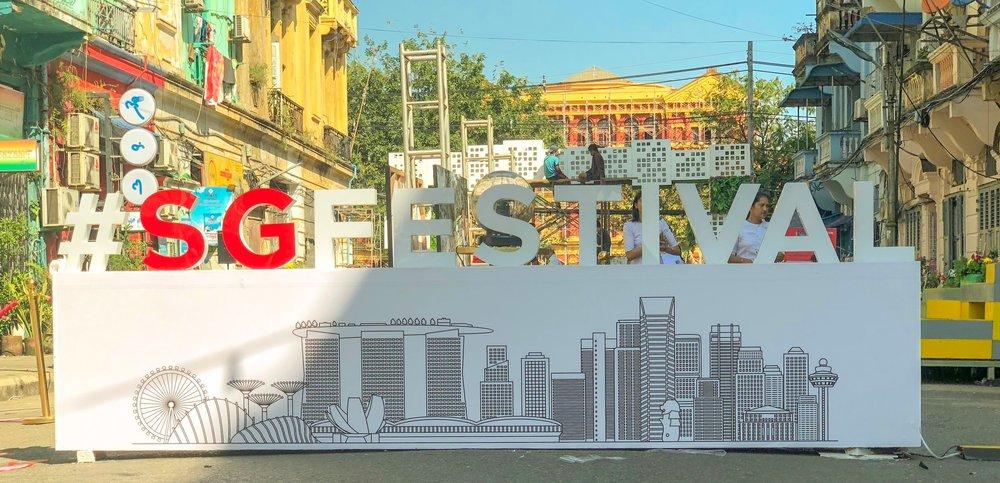 Singapore Street Festival 2018 Yangon