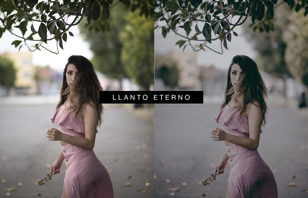 LLANTO ETERNO - Un leve toque morado en las fotografías, recomendado en exterior