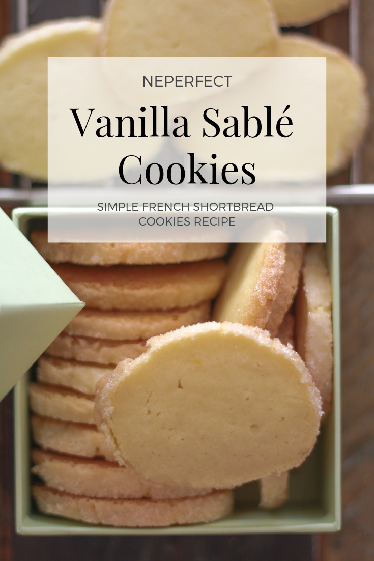 Vanilla Sablе Cookie Recipe