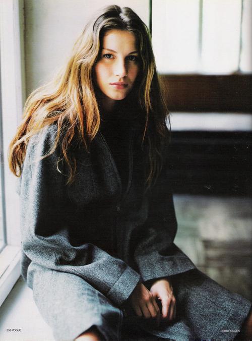 Gisele Bündchen Vogue Russia 1998