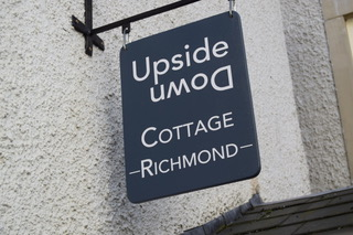 Front of Upside Down Cottage