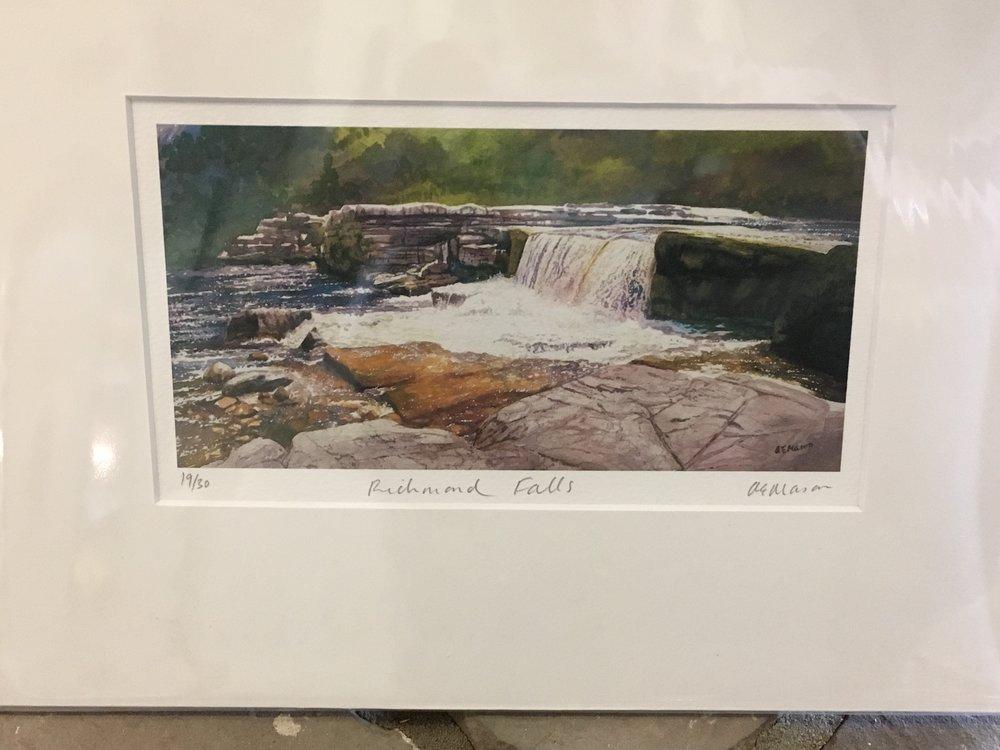 Richmond Falls 10/30 limited edition print £ 15.00