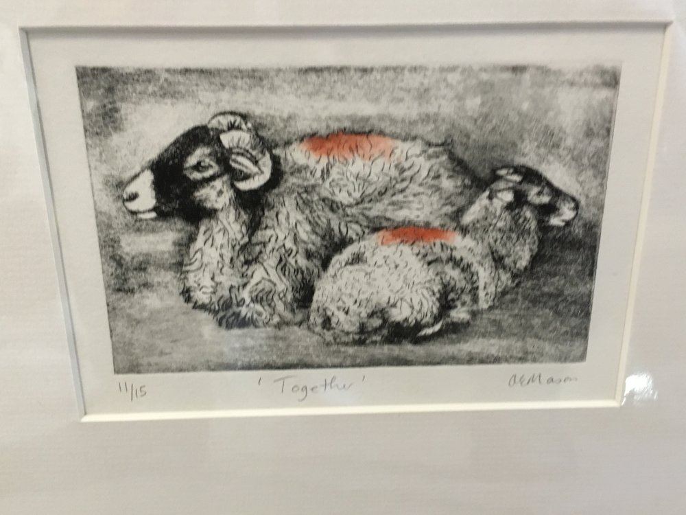 Engraving limited edition print 'Together' 11/15 £28.00