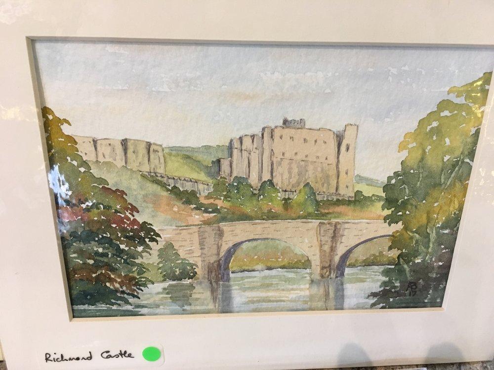 Original Watercolour 'Richmond Castle' £24.00