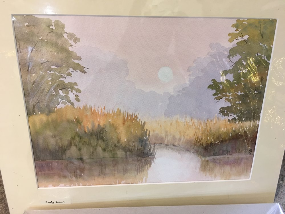 Original watercolour 'Early Dawn' £135.00