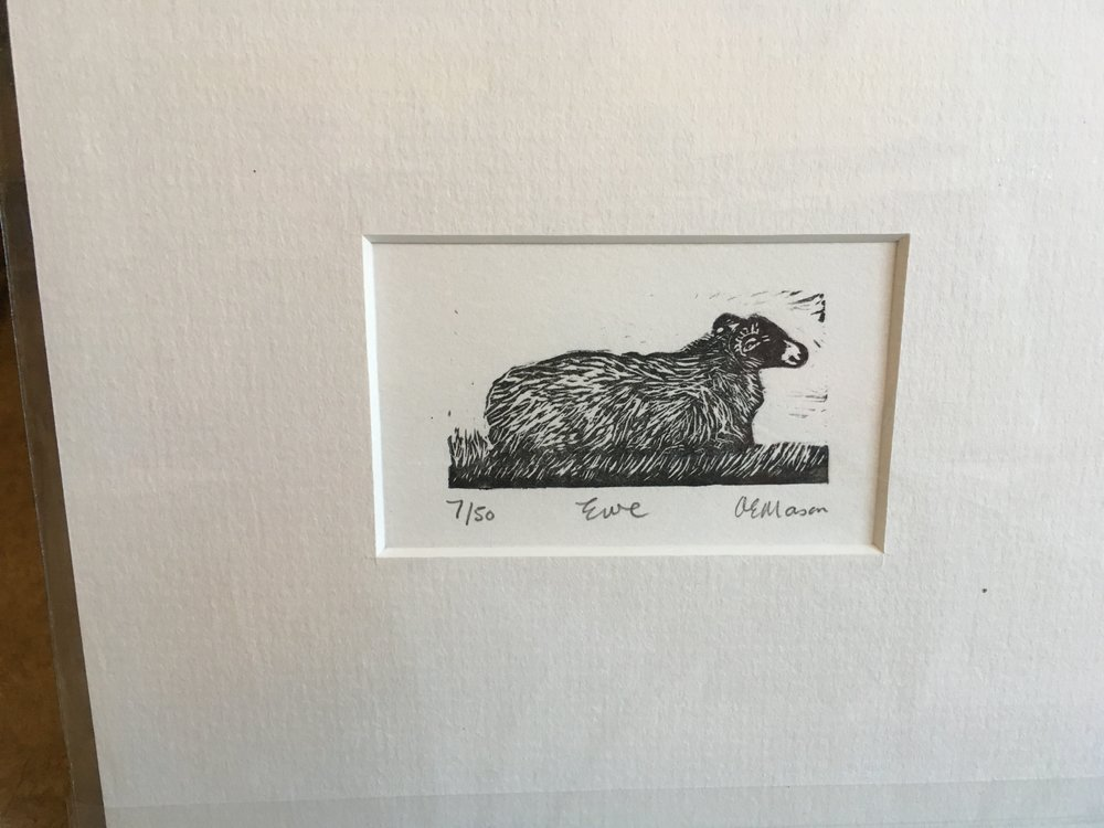 Wood Engraving 'Ewe' 7/50 £20