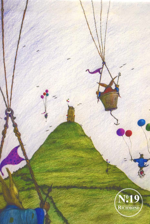 Giclee Print 'Glastonbury Tor' £40