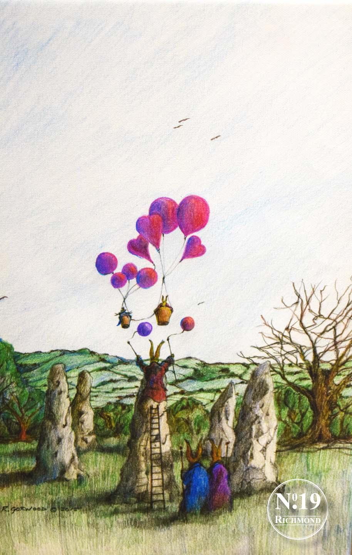 Canvas Print 'Stonehenge' £55