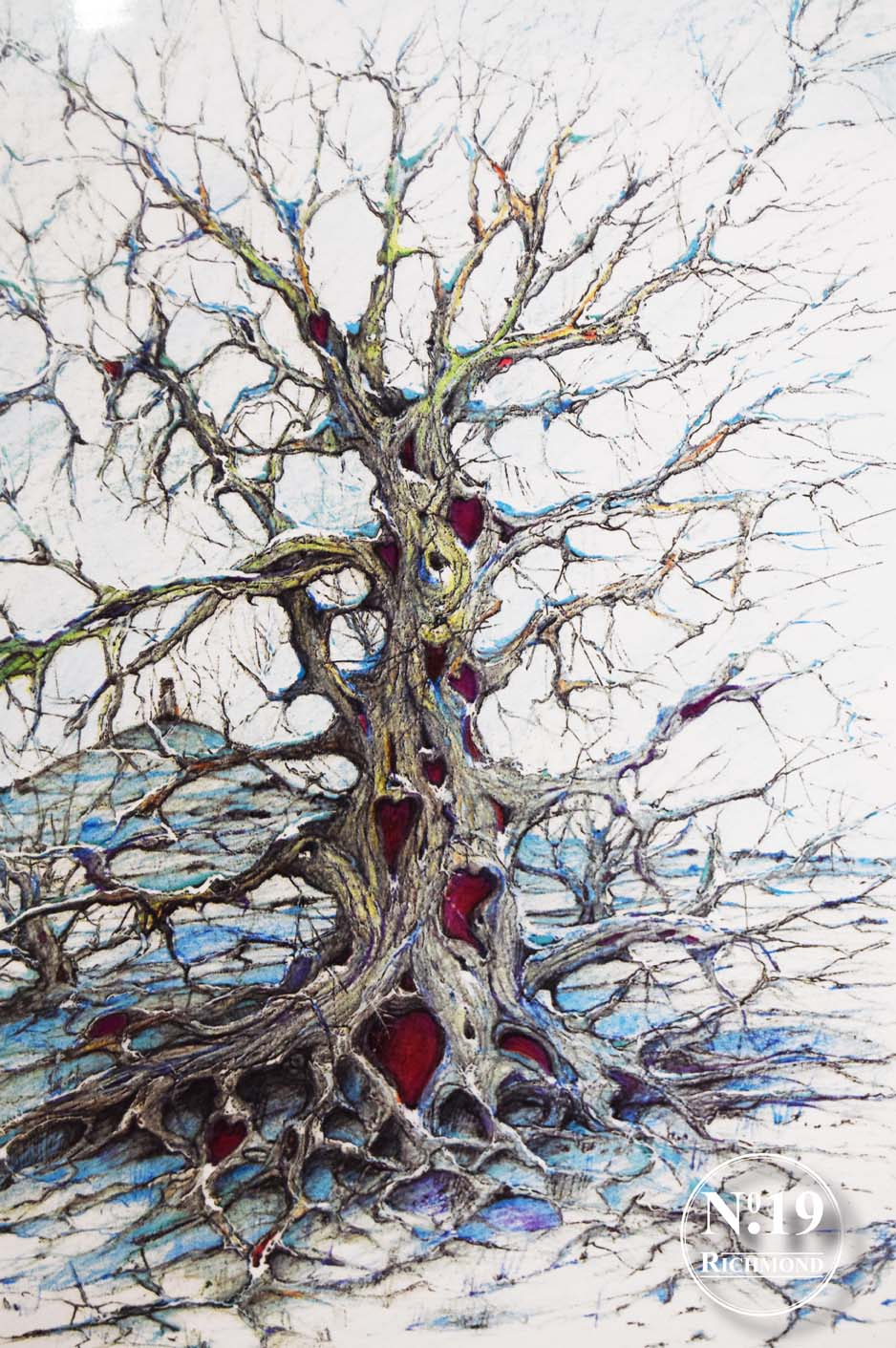 Giglee print 'Tree of hearts' £40