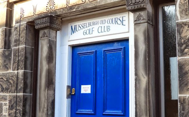 Closed Door Policy --  Musselburgh has a clubhouse. But unlike most golf clubs in Scotland, it's off limits to non-members.