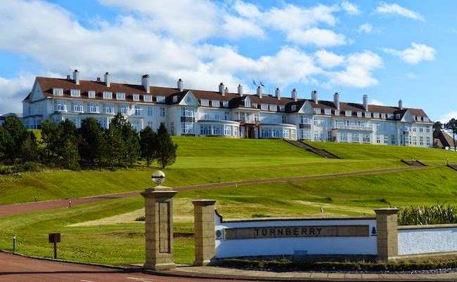 Edifice Maximus -- The Turnberry Hotel opened its doors to the rich and famous of 1903 before being pressed into service as a hospital during World War I.