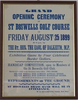 Time Tested --  St. Boswells has remained largely   unchanged throughout      its 115-year history.