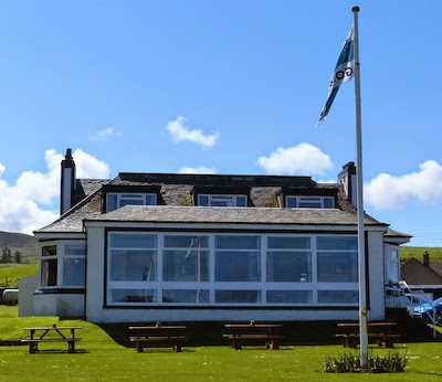 19th Hole -- Visitors are welcome to indulge in the hospitality offered by Machrihanish's cozy clubhouse.