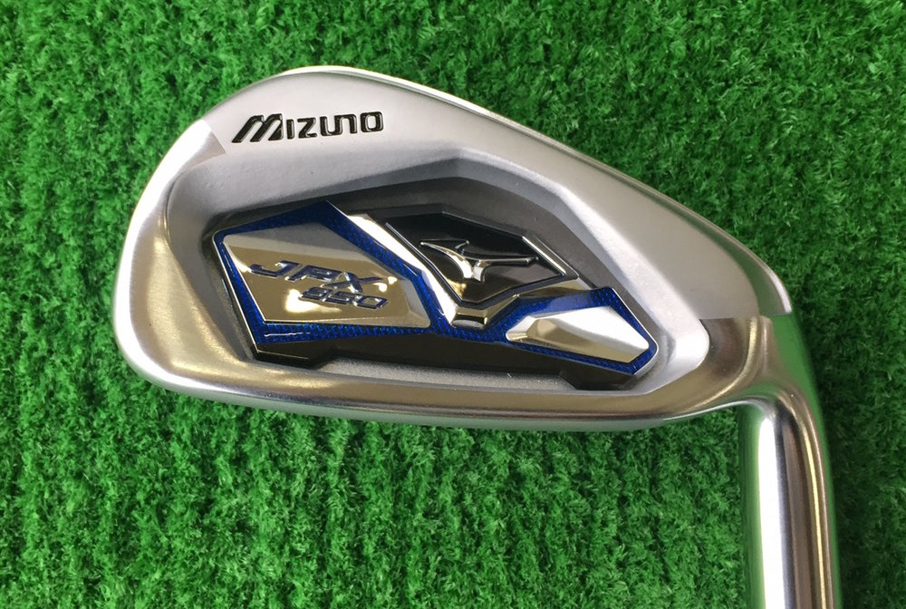 Quality Rental --  With my Mizuno irons back in Scotland, imagine my delight when I hired a 7-iron and they handed me this shiny new stick.