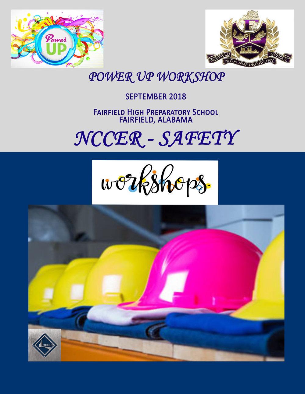 Power UP Workshop NCCER SAFETY Fairfield AL 9.2018 flyer.jpg